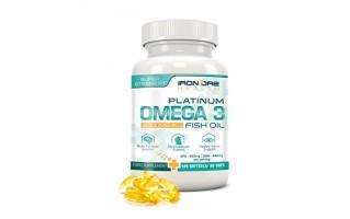 Iron Ore Health Omega-3 Platinum Fischöl