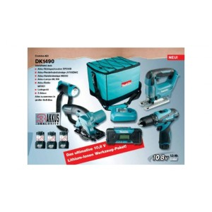 makita dk1490 combo kit 10 8 v test. Black Bedroom Furniture Sets. Home Design Ideas