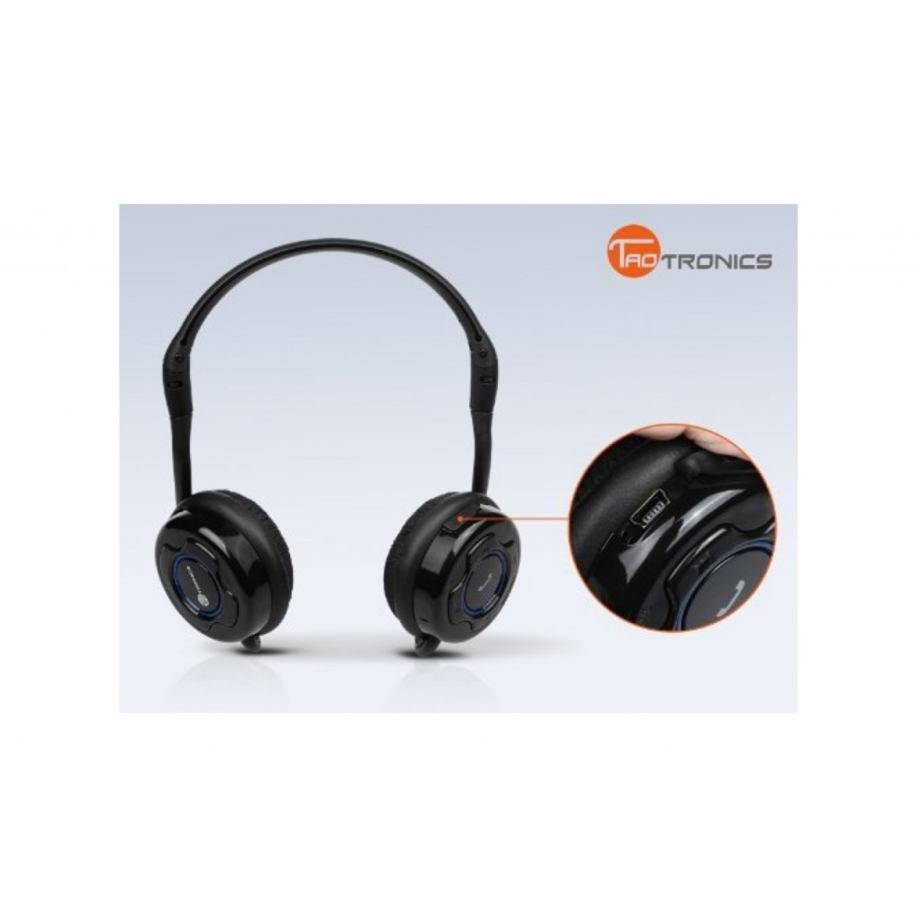taotronics stereo bluetooth headset test. Black Bedroom Furniture Sets. Home Design Ideas